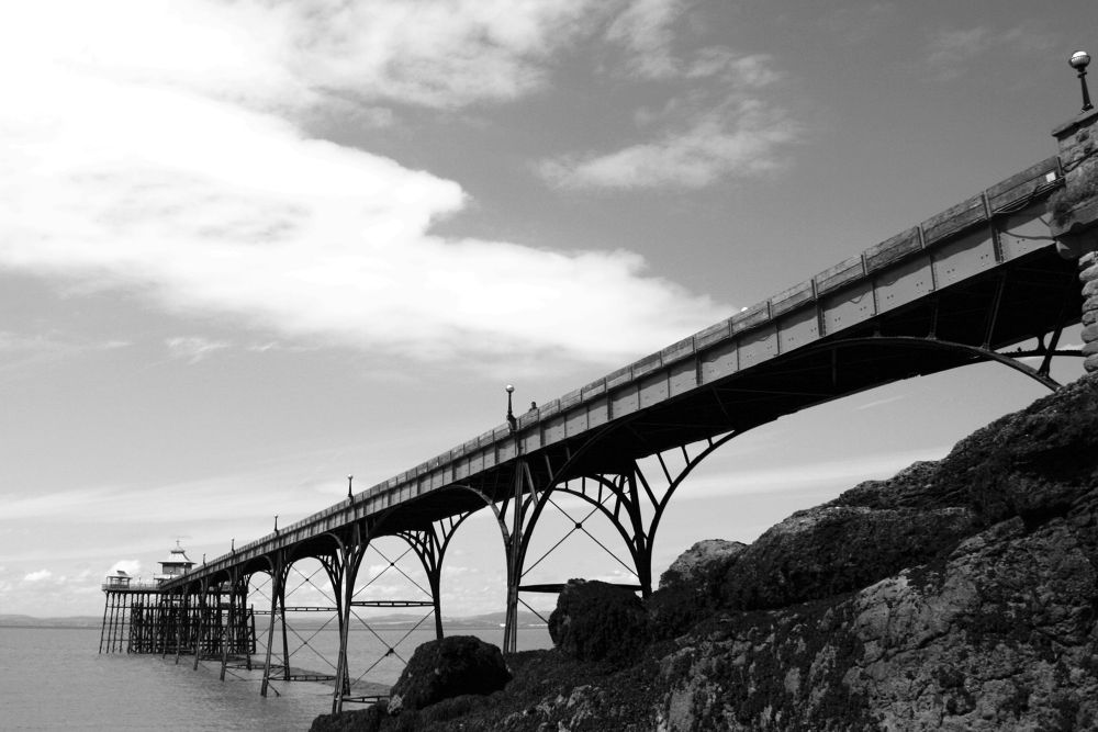 Clevedon Pier by Adrian Farris