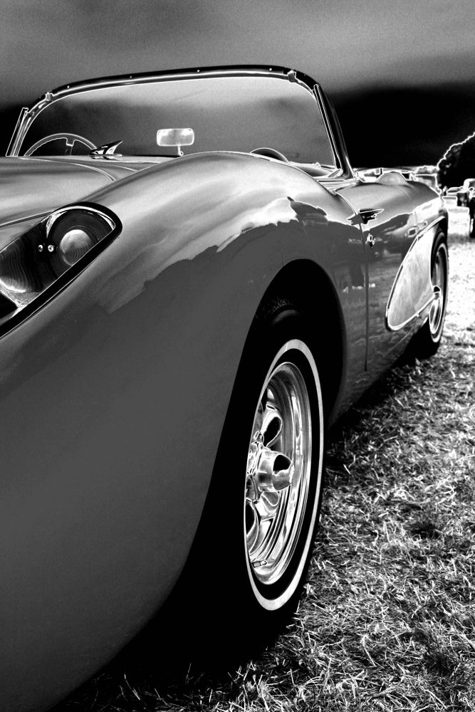 Old Vette by Adrian Farris