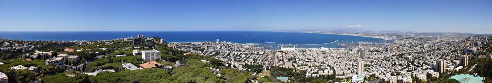 Beautiful Haifa by amirdeeb