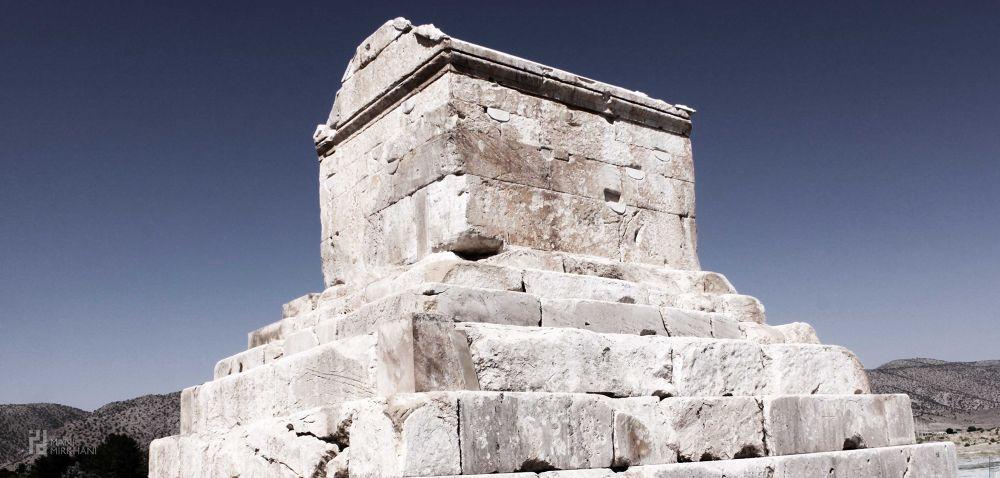 Tomb of Kourosh great - Shiraz - iran by manimirkhani