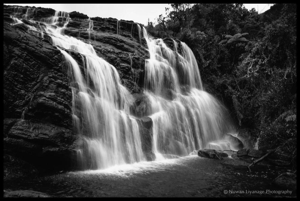 Baker's Fall - Horton Plains by mlnuwan