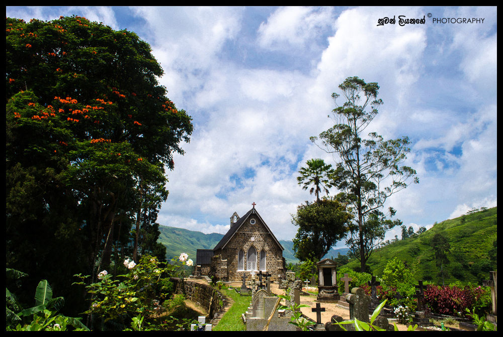"Anglican Chirst Church Warleigh"" in Hatton - Dick oya, Sri Lanka by mlnuwan"