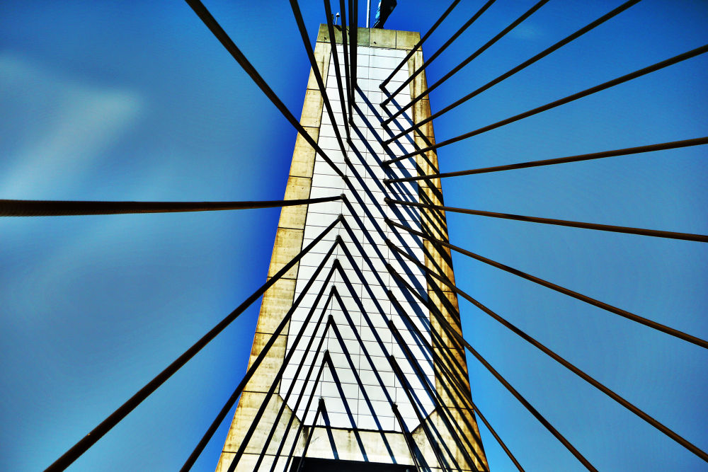 anzac bridge abstract by miguelwolve
