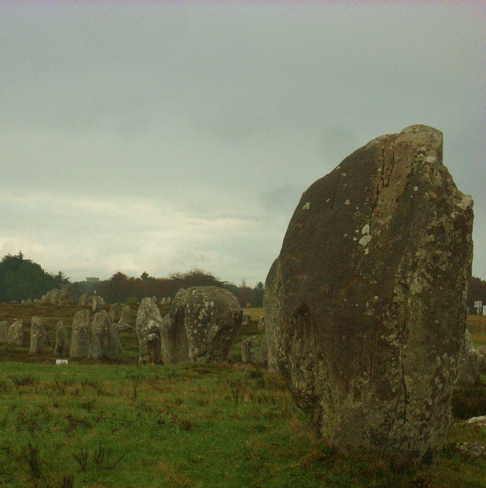 Alignement de menhirs à Carnac by aurelierousso3