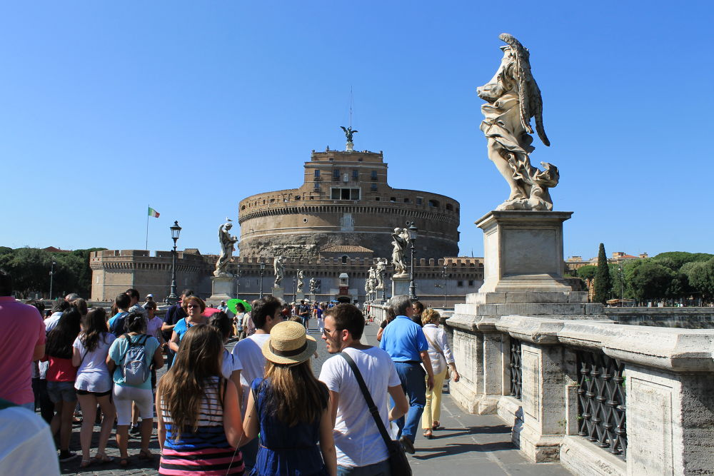 Castel Sant'Angelo by dalessionicola