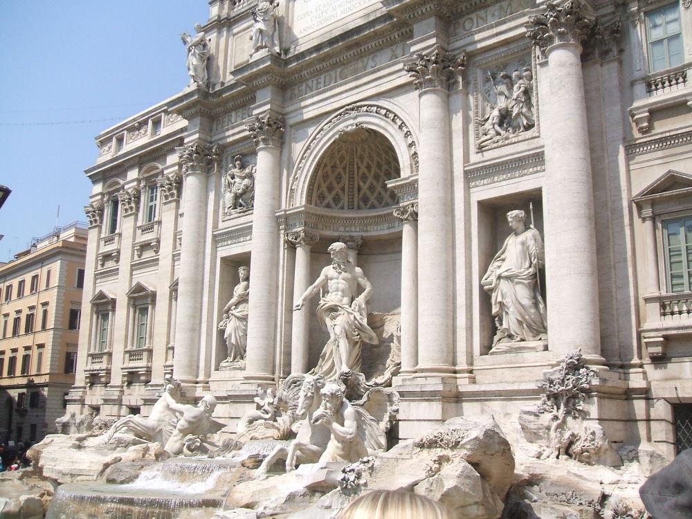 Fontana di Trevi  by dalessionicola
