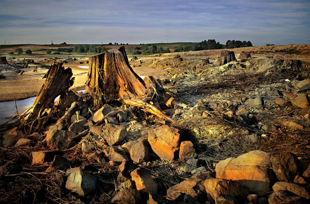 Tu był zalew w Niedowie -2010 by Zbigniew Gałucki
