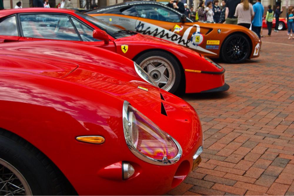 Ferrari Trio by joseph wengloski
