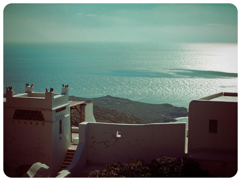 Endless blue, Mykonos, Greece by lambriana
