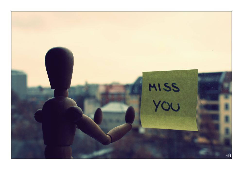 Miss you! by QnSansNomPhotography