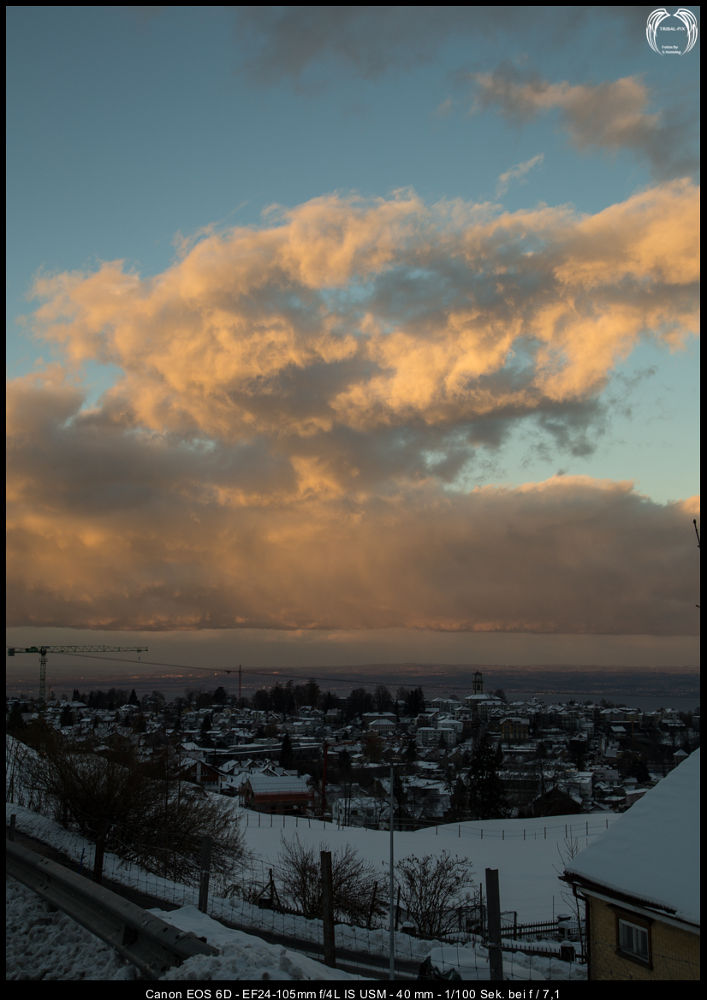 Clouds over lake constance... by Stephan Nenning