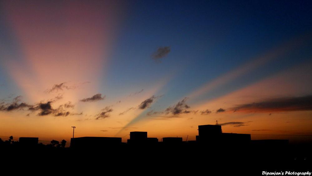 An Exclusive Sunset.... by dipanjandas
