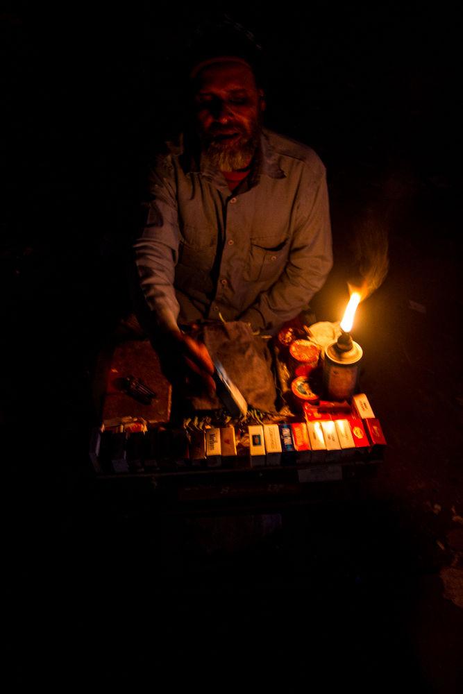 Night Shopkeeper by EnamulKabirRony