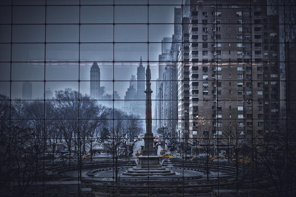 Photo in Random #columbus circle #nyc #time warner