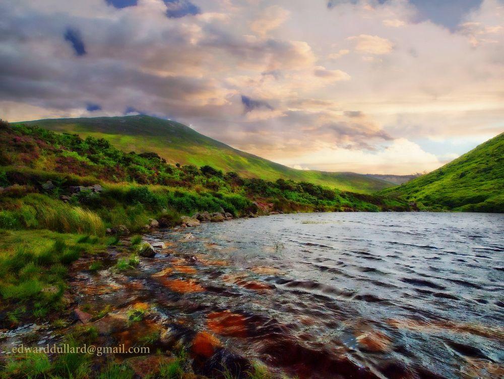 Bay Lough. The Vee.  County Tipperary, Ireland. by EdwardDullard