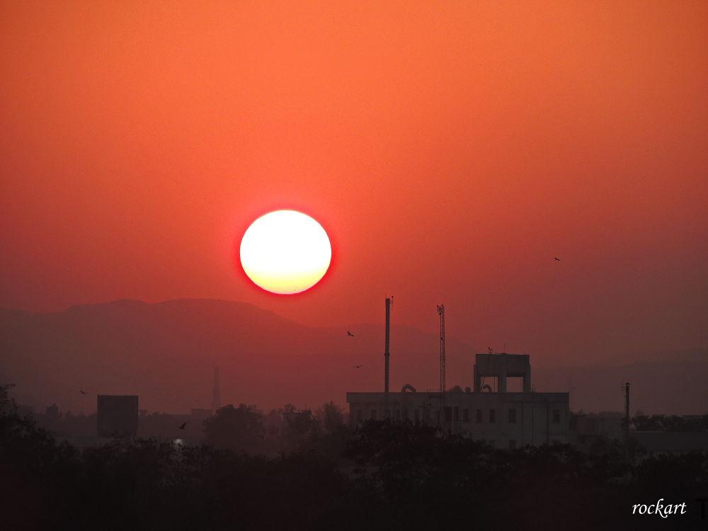 Sunset-3 by rockart