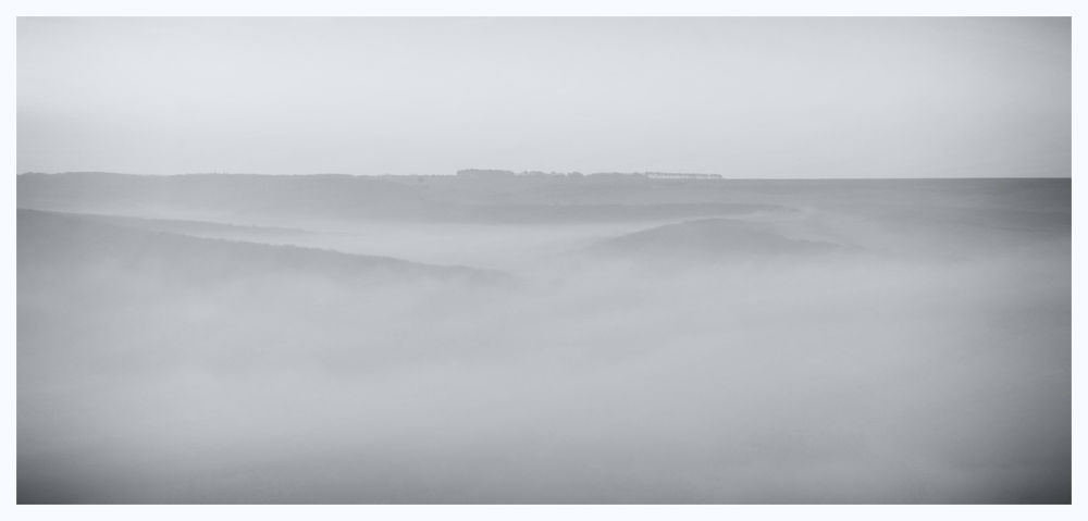 Misty Morning. Cuckmere Valley East Sussex by tcbenneyworth