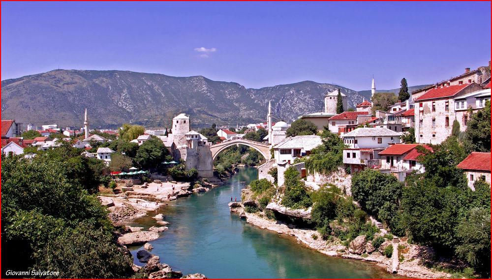 Stari Most  (Mostar, Bosnia) by EuroAmerican