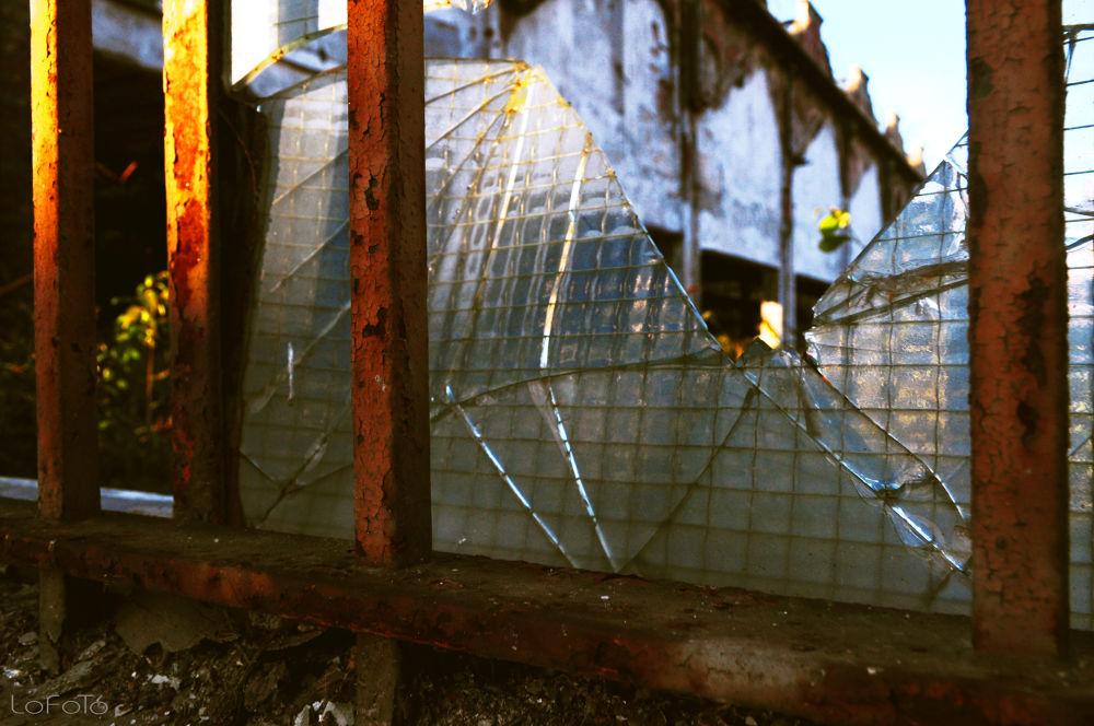Photo in Industrial #window #break #industrial #torino #color
