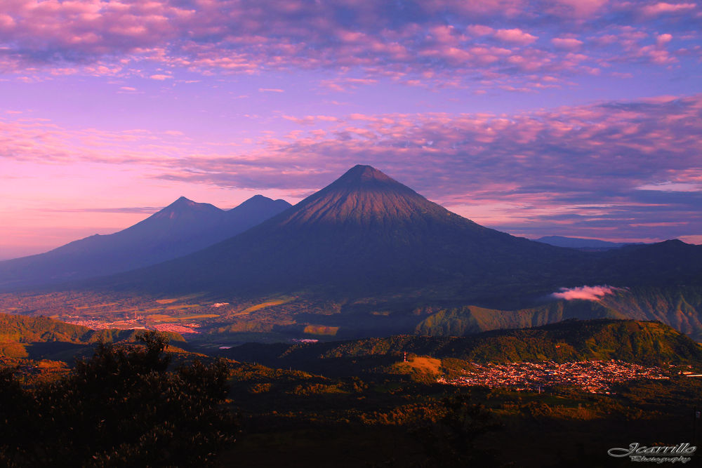 OUR GUATEMALAN VOLCANOS. by juanchito77