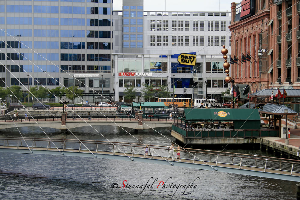 Baltimore Inner Harbor  by Stunnaful Photography