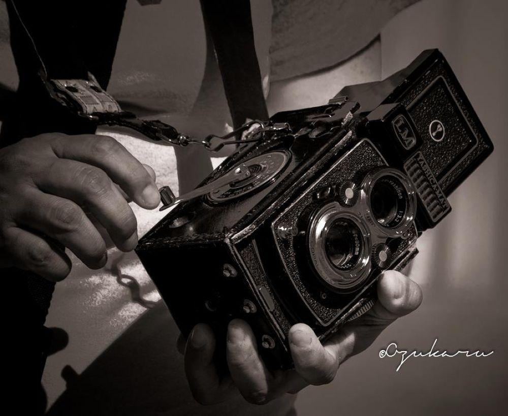 Photo in Black and White #yashica #analog #camera