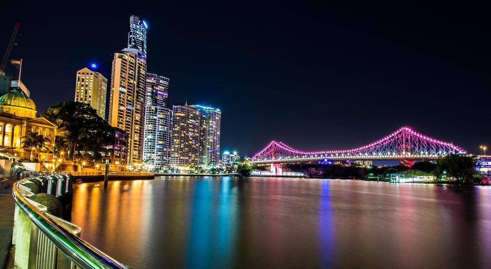 Brisbane Story Bridge by Troy Carroll