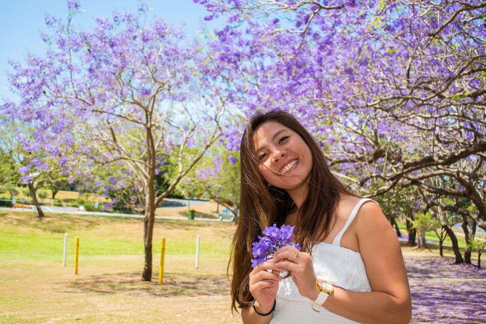 jacaranda shoot by Troy Carroll