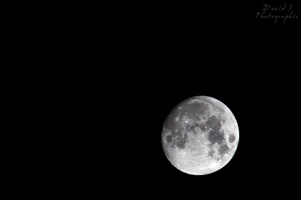 Moon by David Salobir