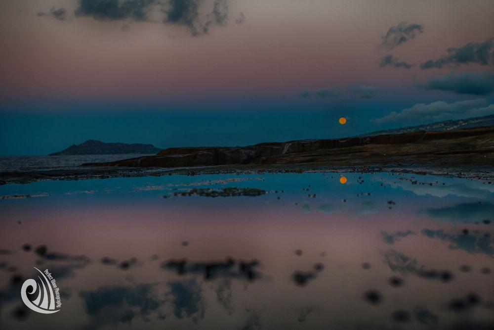 Full Moon by Diamond Head by lonnie.mckenzie.14