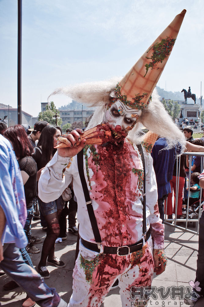 Zombie Clown by Arval