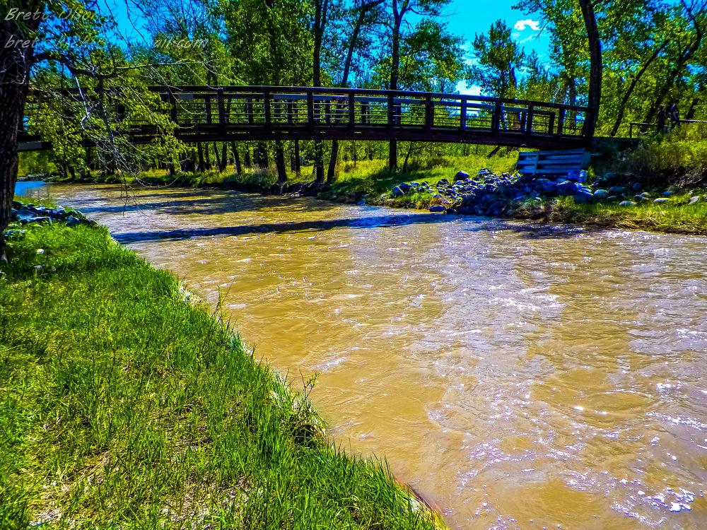 Calm waters by Brett Olson
