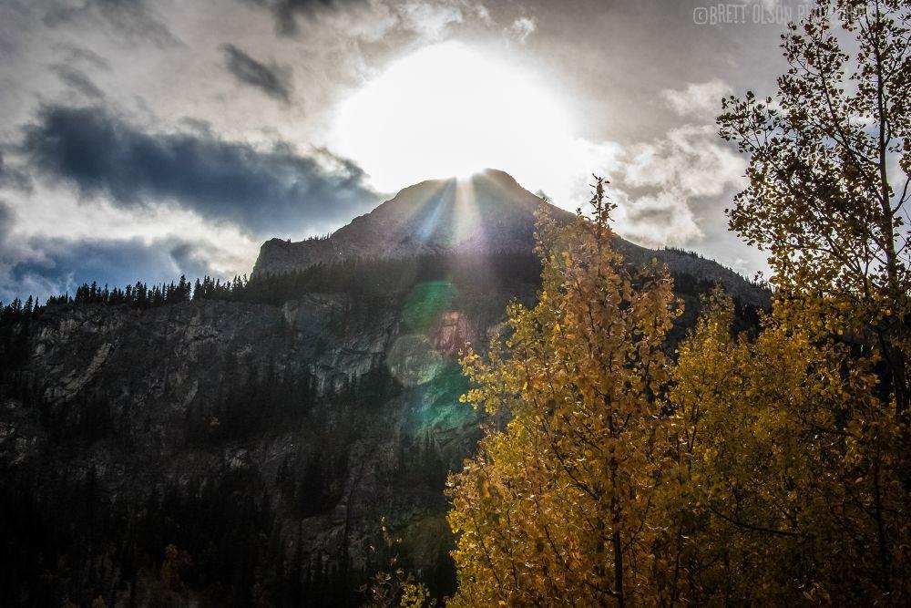 Photo in Random #mountain #sun #nature #landscape