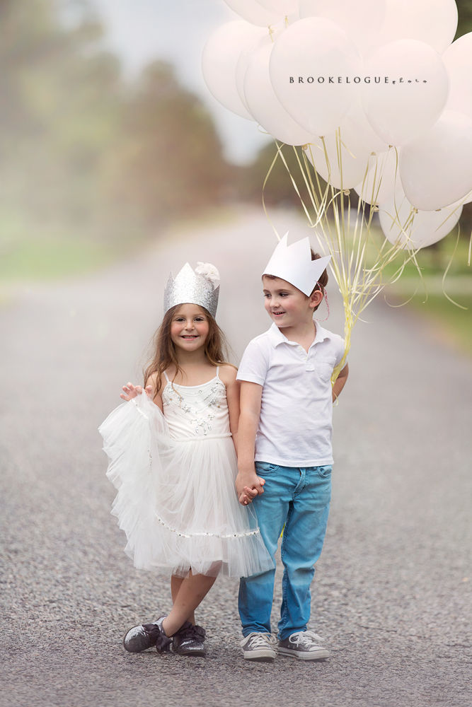 Snow Queen and King by Brooke Logue Photography