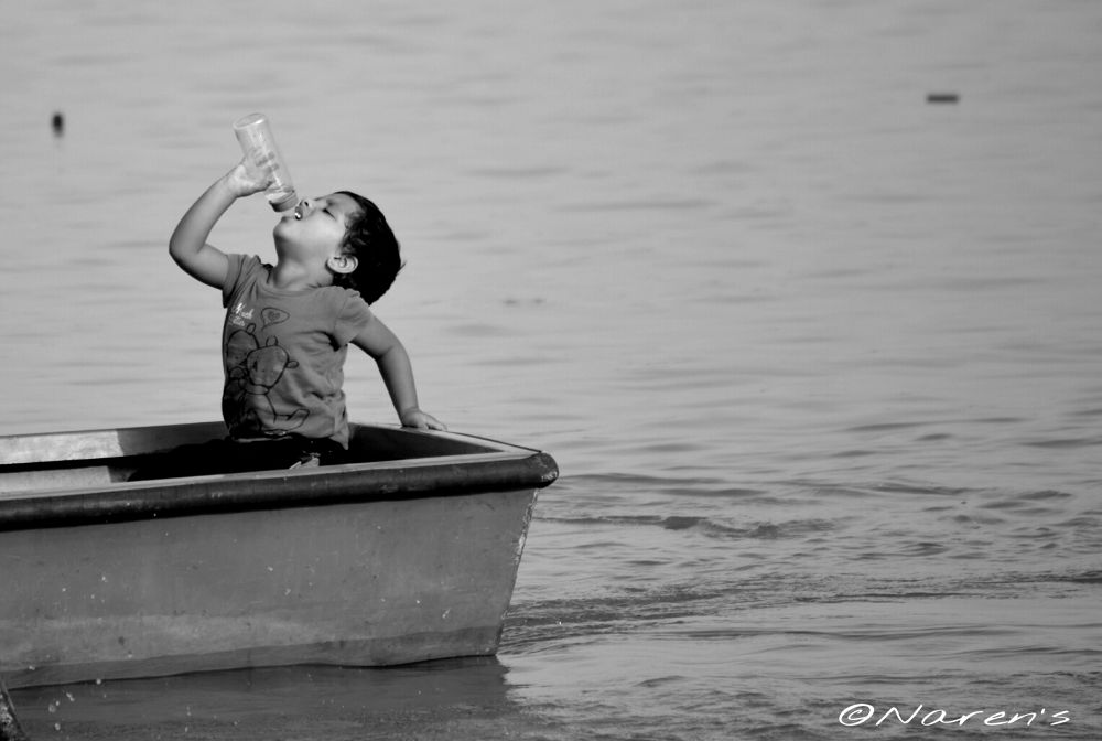 Boating by Naren
