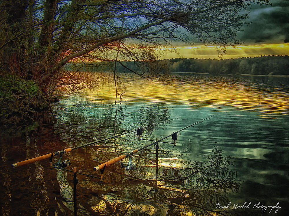 Angeln by Frank Huckel