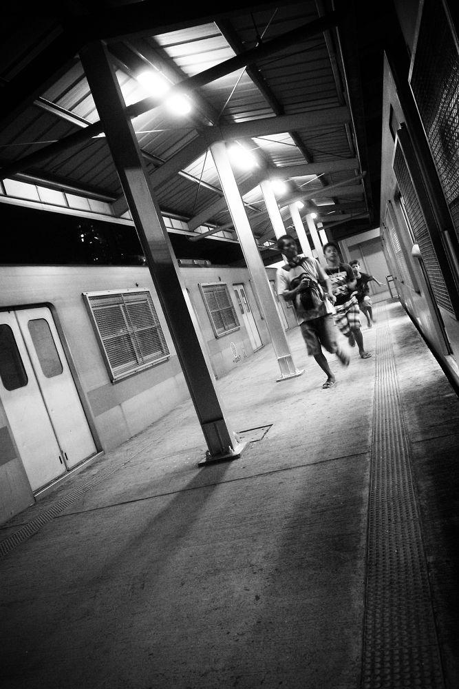 Train Rush by Eugene