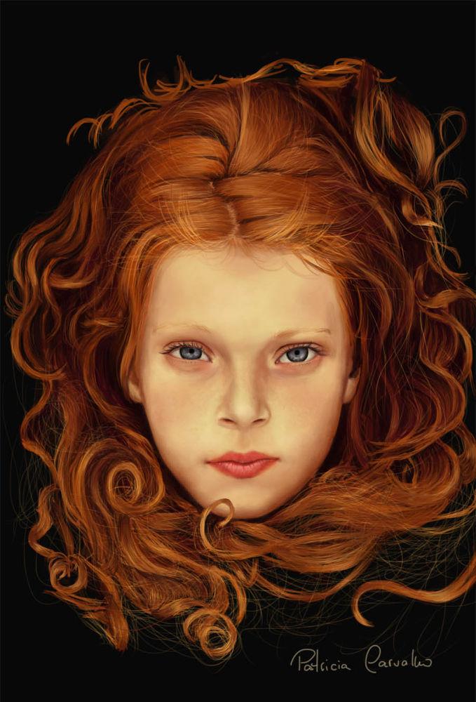red head by Patricia Carvalho
