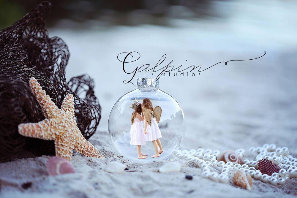 Christmas on the beach by Galpin Studios