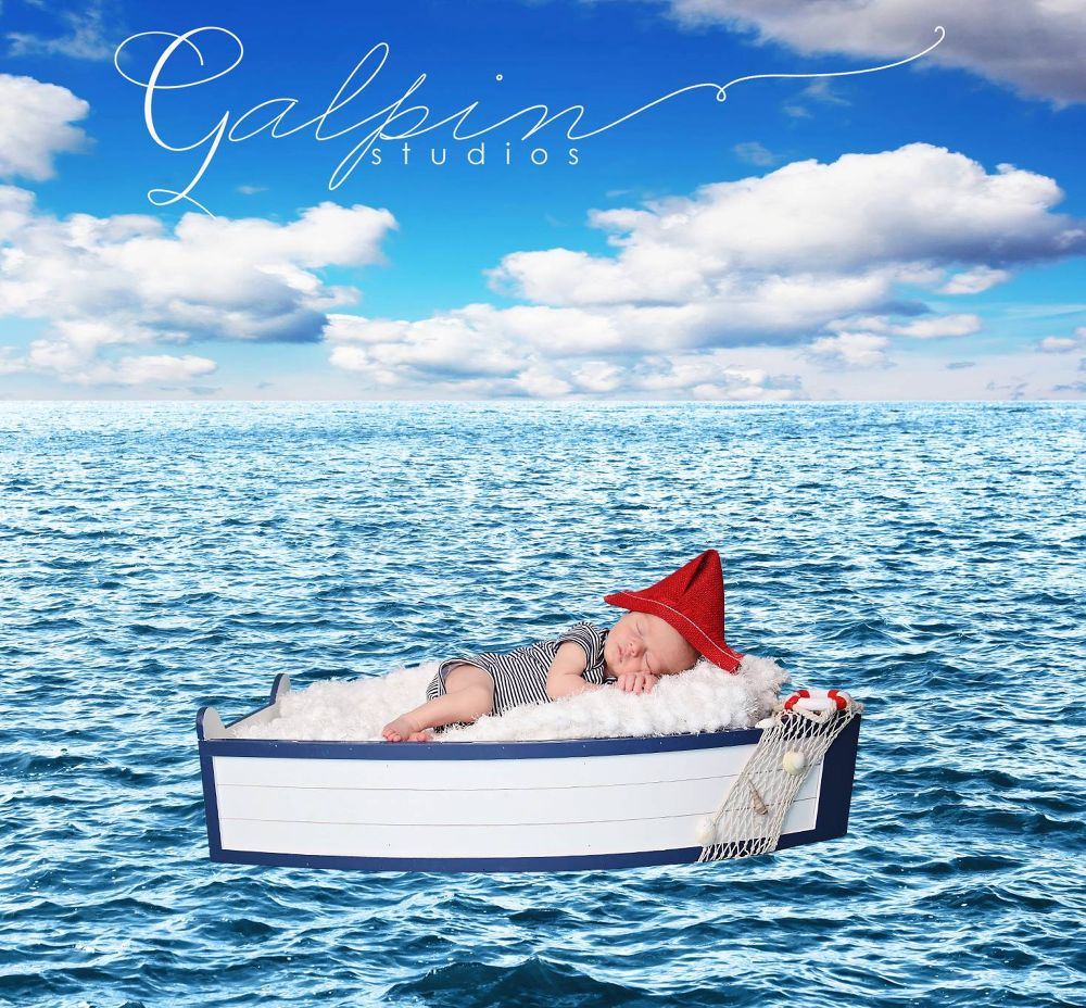 Sail away baby by Galpin Studios