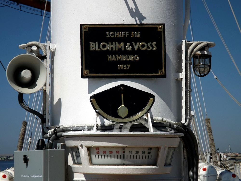 "N.R.P. SAGRES - The school-ship "" Sagres"" - Portugal built in 1937 in Hamburg- Germany. by Antonio F. Maia"