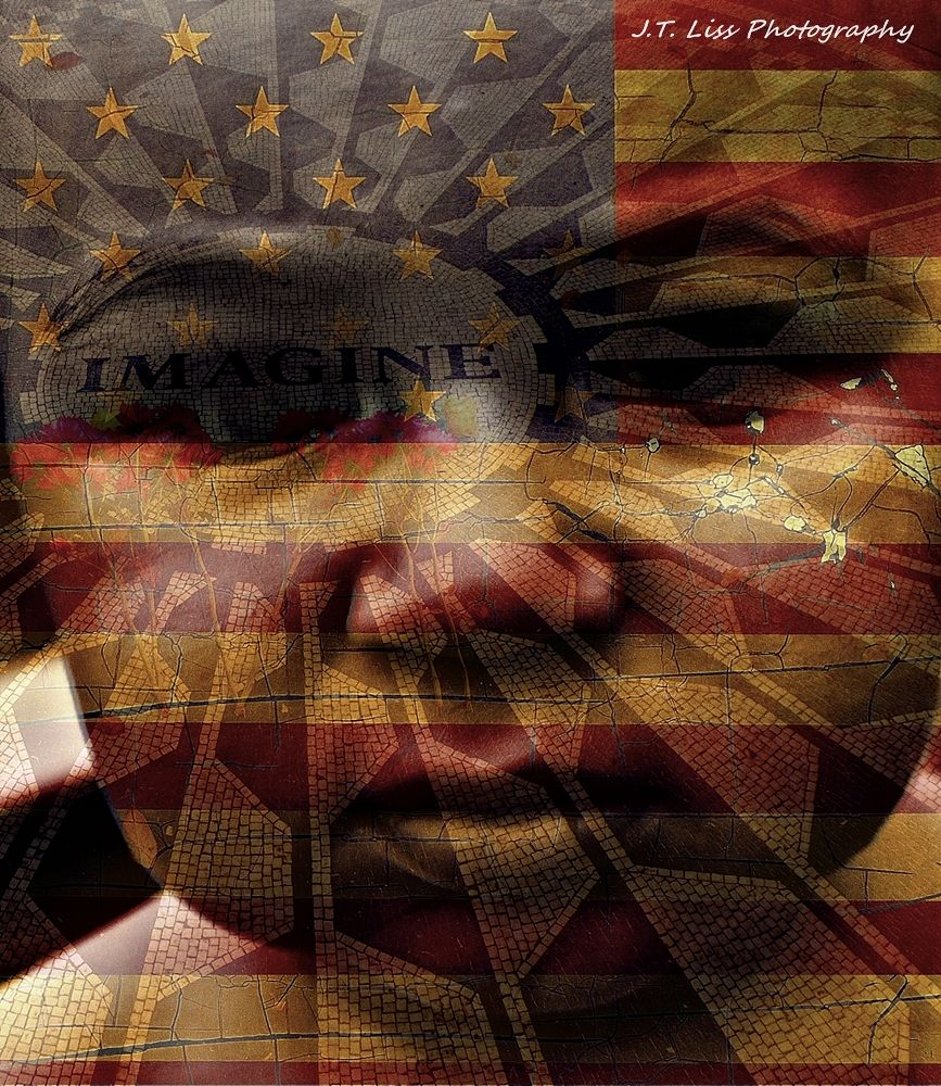 Photo in Portrait #photography #art #social change #photographer #artist #advocate #imagine #strawberry fields #new york city #new jersey #portrait #united states #american flag #education #potential