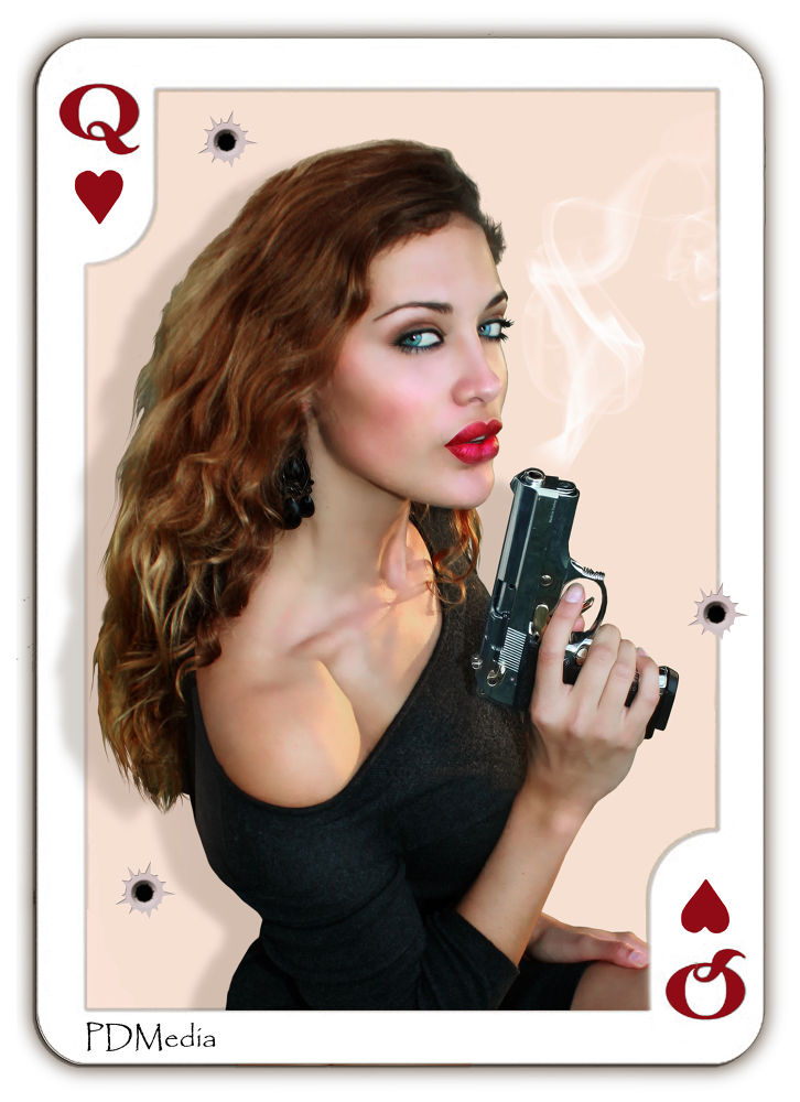 Queen of Hearts by PDMedia Photography