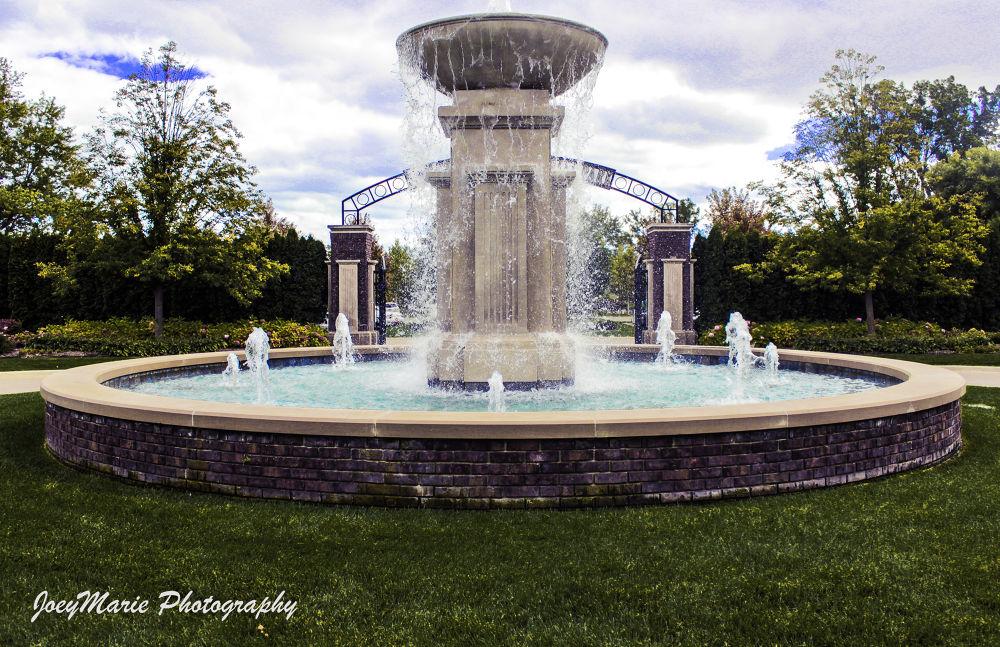 Water Fountain  by Alicia Farias