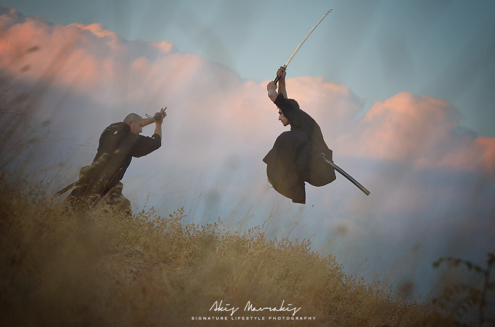 shadow warriors by Akis Mavrakis