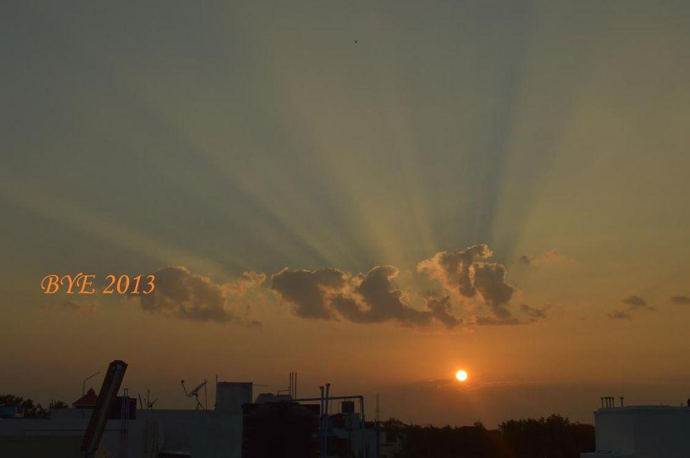 2013 final sunset by Ravi Vet
