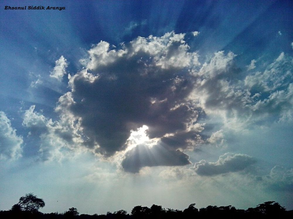 Behind the Cloud Freedom Ahead by Ehsanul Siddiq Aranya