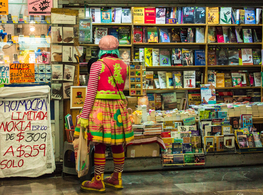 Comedy reader by Ana Cristina Montoya