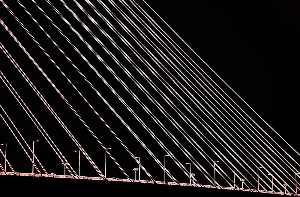 Photo in Architecture #bridge #architecture #b & w