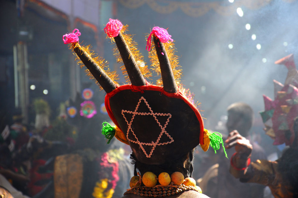 Colours in Dhasara by Tamil Guru